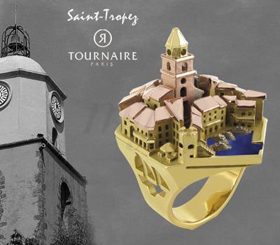 Bague Saint-Tropez - Philippe Tournaire