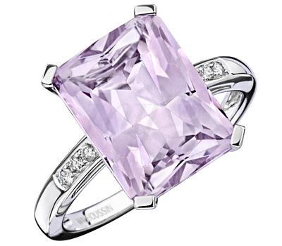 Bague Vertige de Toi avec une améthyste et des diamants de Mauboussin