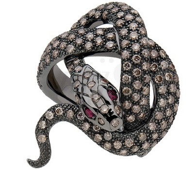 Bijou Sylvie Corbelin - Bague Serpent