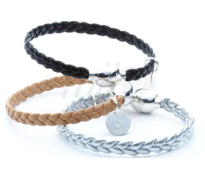 Bracelets Cuir Tressé - Flowers For Zoé