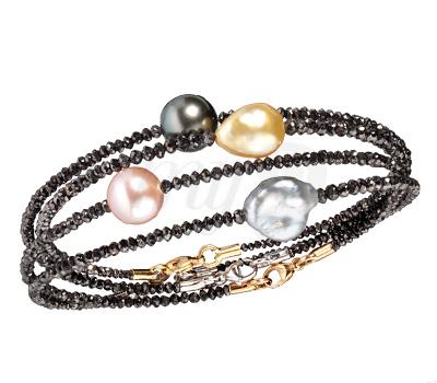 Bracelets Rivières Noires - Patrice Fabre