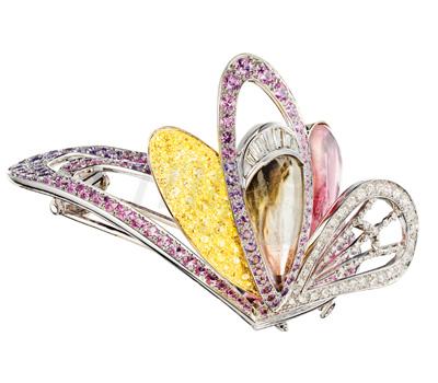 Broche Bouquet d'Ailes - L'Artisan du Rêve Boucheron
