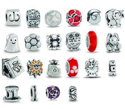 Charms en argent pour bracelets Pandora