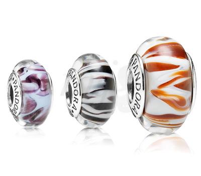 Charms Pandora Sauvage Murano