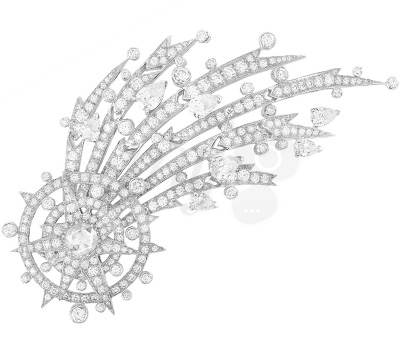 Clip Étoile Filante - Van Cleef & Arpels Palais de la Chance