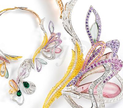 Collier Bouquet d'Ailes Joaillerie - L'Artisan du Rêve Boucheron