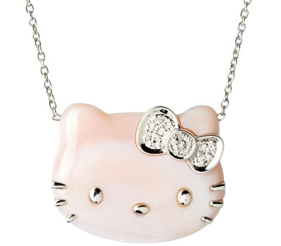 Collier Hello Kitty de Victoria Casal joaillerie