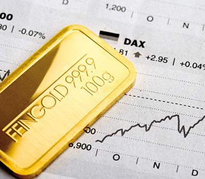 Évolution du cours de l'or par années