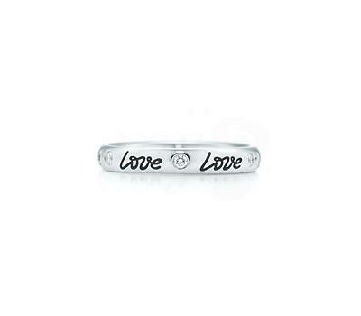 Love Band Ring - Bague Tiffany & Co