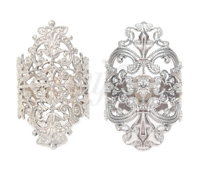 Bagues Marquises Argent et Or - Schade Jewellery