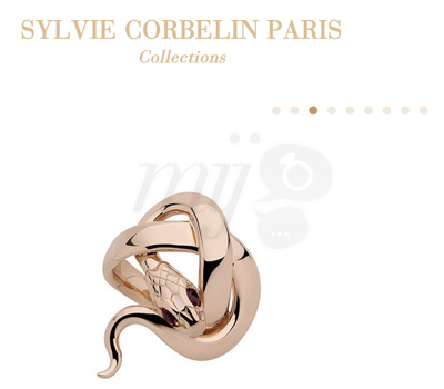 Site Web - les Collections Bijoux Sylvie Corbelin