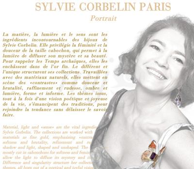 Site Web - Créatrice Sylvie Corbelin