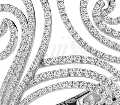 Volutes Diamants - Bracelet- Décor Damiani