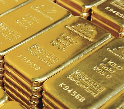 Achat de lingots d'or en Suisse
