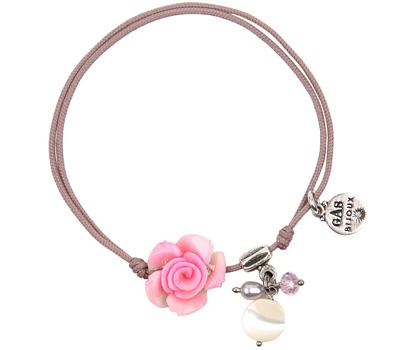 Bracelet cordon rose de GAS Bijoux