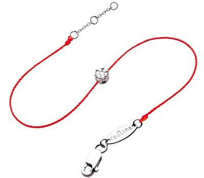 Bracelet diamant sur fil rouge de Redline