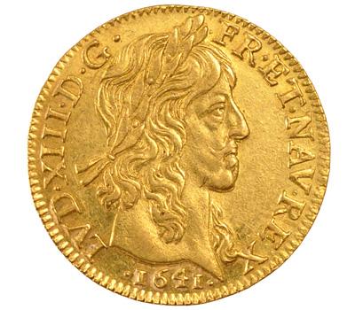 Louis d'or Louis XIII d'une grande valeur