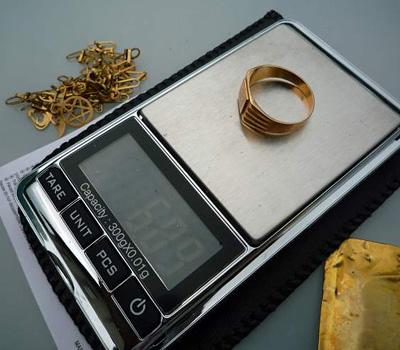 valeur d'une bague en or