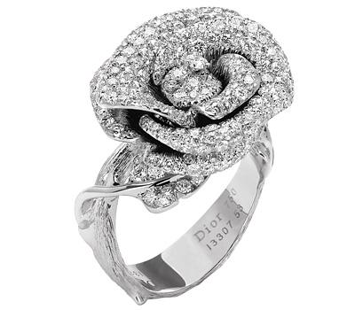 Bague de fiançailles de Dior Bagatelle Rose