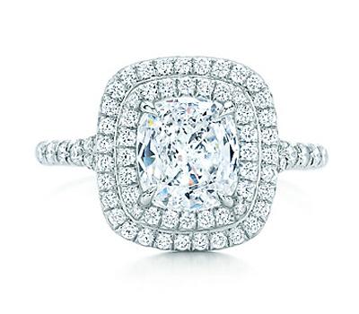 Bague de fiançailles de Tiffany Soleste