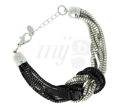Bracelet Black & White - Eliot Bijoux