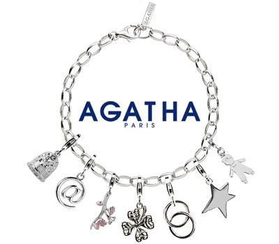Bracelet Charms en argent chez Agatha