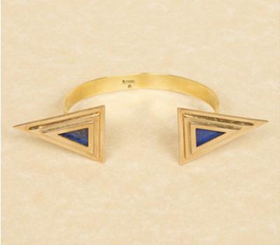 Bracelet Double Pyramid - Pamela Love