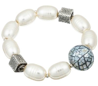 Bracelet Reminiscence avec des perles