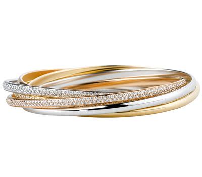 Bracelet Trinity de Cartier version 3 ors
