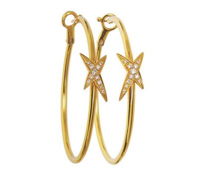 Créoles Mes Nuances à Toi en or jaune et diamants de Mauboussin