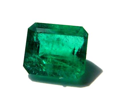 Émeraude de Madagascar - pierre précieuse verte