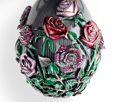 Oeuf aux Roses - Fabergé Joaillerie