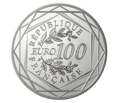 Pièce 100 Euros Argent - Monnaie de Paris