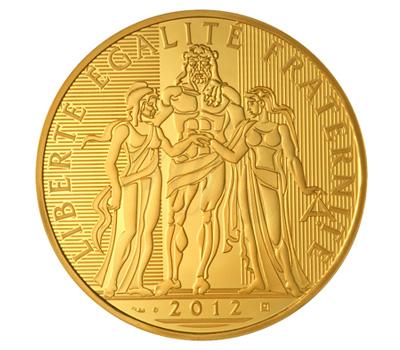 Pièce Hercule Or 5000 Euros