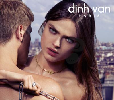 Publicité Dinh Van Bijoux 2012