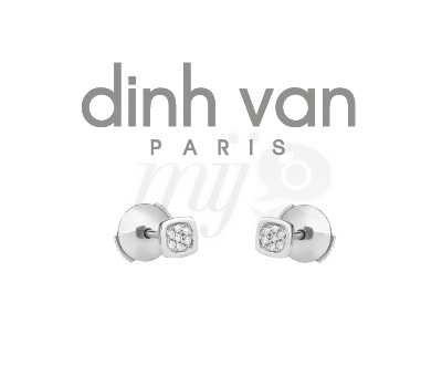 Puces Oreilles Dinh Van Domino Impression