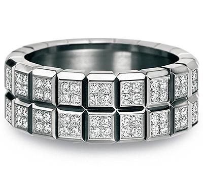 Bague Chopard Ice Cube avec diamants