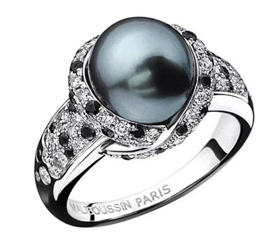 Bague Mauboussin perle caviar