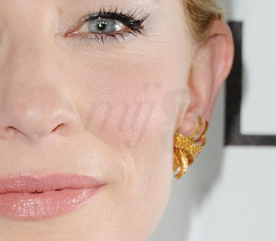 Boucle d'Oreille Van Cleef & Arpels Cate Blanchett - Gala Elle Getty Images