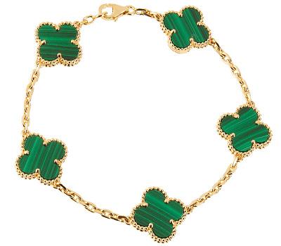 Bracelet Alhambra en or jaune de Van Cleef \u0026 Arpels