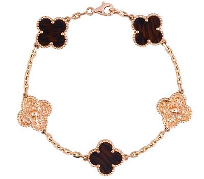 Bracelet Alhambra Vintage et bois de Van Cleef & Arpels