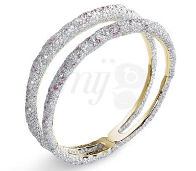Bracelet Charmeuse Rose - Fabergé