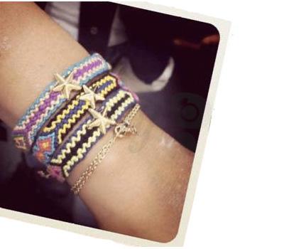 Bracelets Brésiliens Chanael K - Montaigne Market