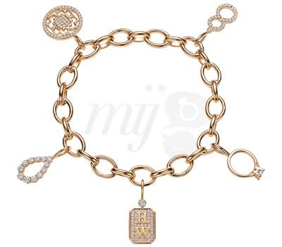 Charm's Or Jaune Diamants - Harry Winston