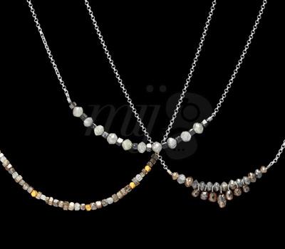 Colliers Diamants Bruts 2012 - Perle de Lune