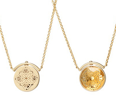 Colliers Swivel de Perle de Lune