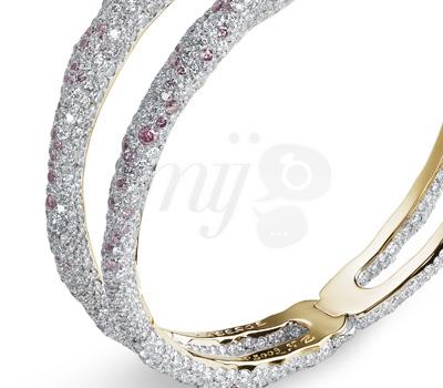 Détail Bracelet Charmeuse Rose - Fabergé