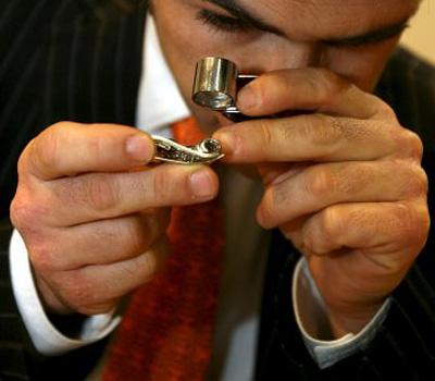 Expertise de bijoux par un expert