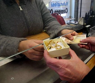 La vente d'or en Suisse