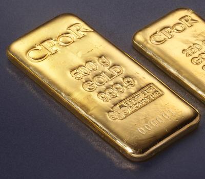 Lingot d'or 24 carats de 500g chez CPoR